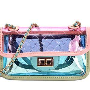 Handbags - Clear jelly crossbody  bag